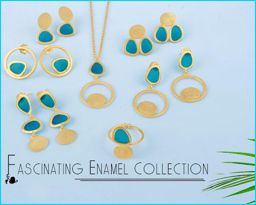 Online Wholesale Fascinating Enamel Jewelry Collection