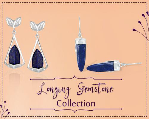 Wholesale Longing Gemstone Jewelry Collection