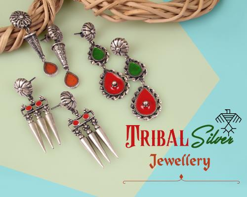 Tribal silver jewellery maker in Jaipur
