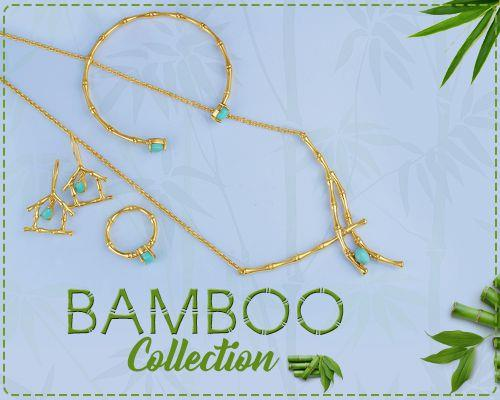 Handcrafted Bamboo Silver Jewelry Collection Manufacturer in Jaipur