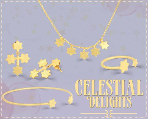 Textured Plain Celestial delight Silver Jewelry Collection Manufacturer, Exporter