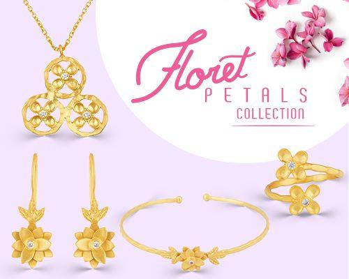 Wholesale Online Floret Petal Silver Jewelry Manufacturer in Jaipur