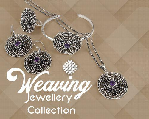 Weaving jewelry collection