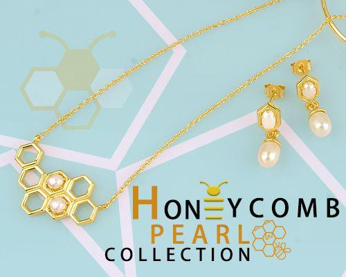Honeycomb Pearl Jewelry Manufacturer in Jaipur