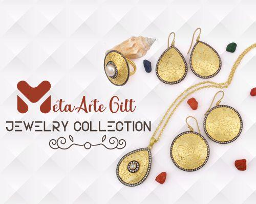 Meta arte gilt jewelry collection