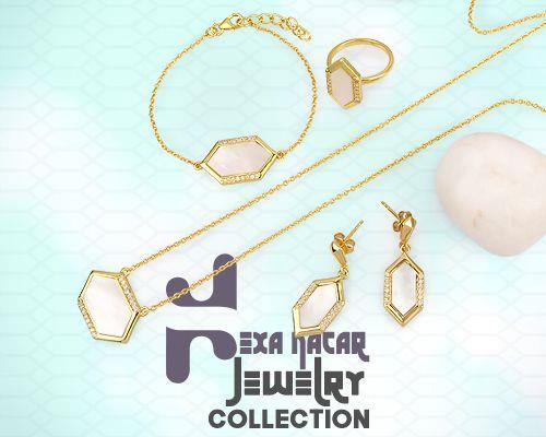 Hexa nacar jewelry collection