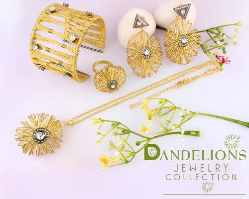 Dandelions Jewelry Collection