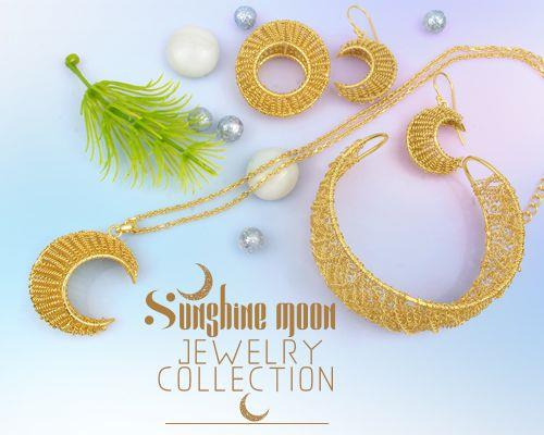 Sunshine moon jewelry wholesale