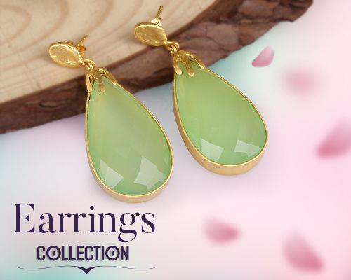 Earrings Jewelry Collections in Jaipur
