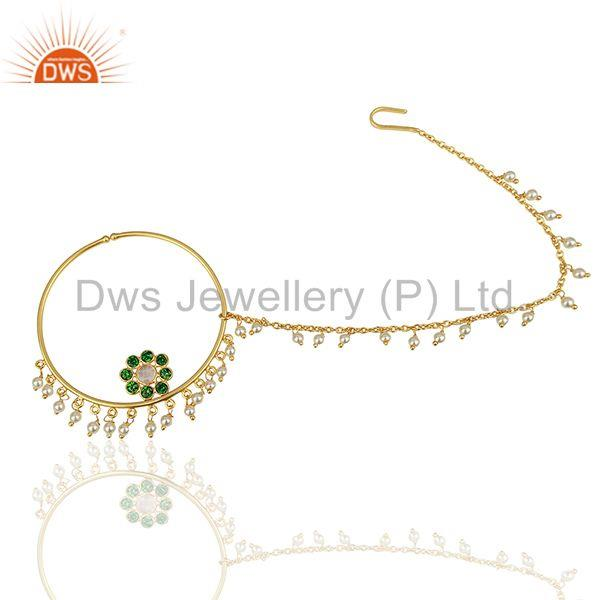 Traditioanl Gold Plated 925 Silver Chain and Link Finding manufacturer