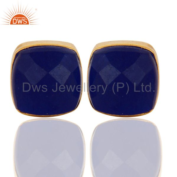 Aventurine Natural Blue Quartz Women earring
