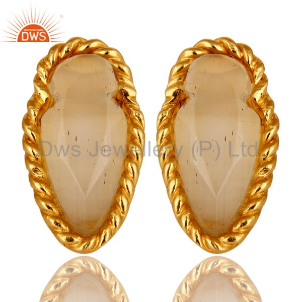 Moon Stone White Cultureed earring Manufacturer
