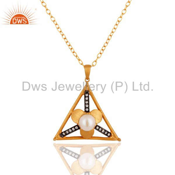 Office Wear Pendant And Necklace
