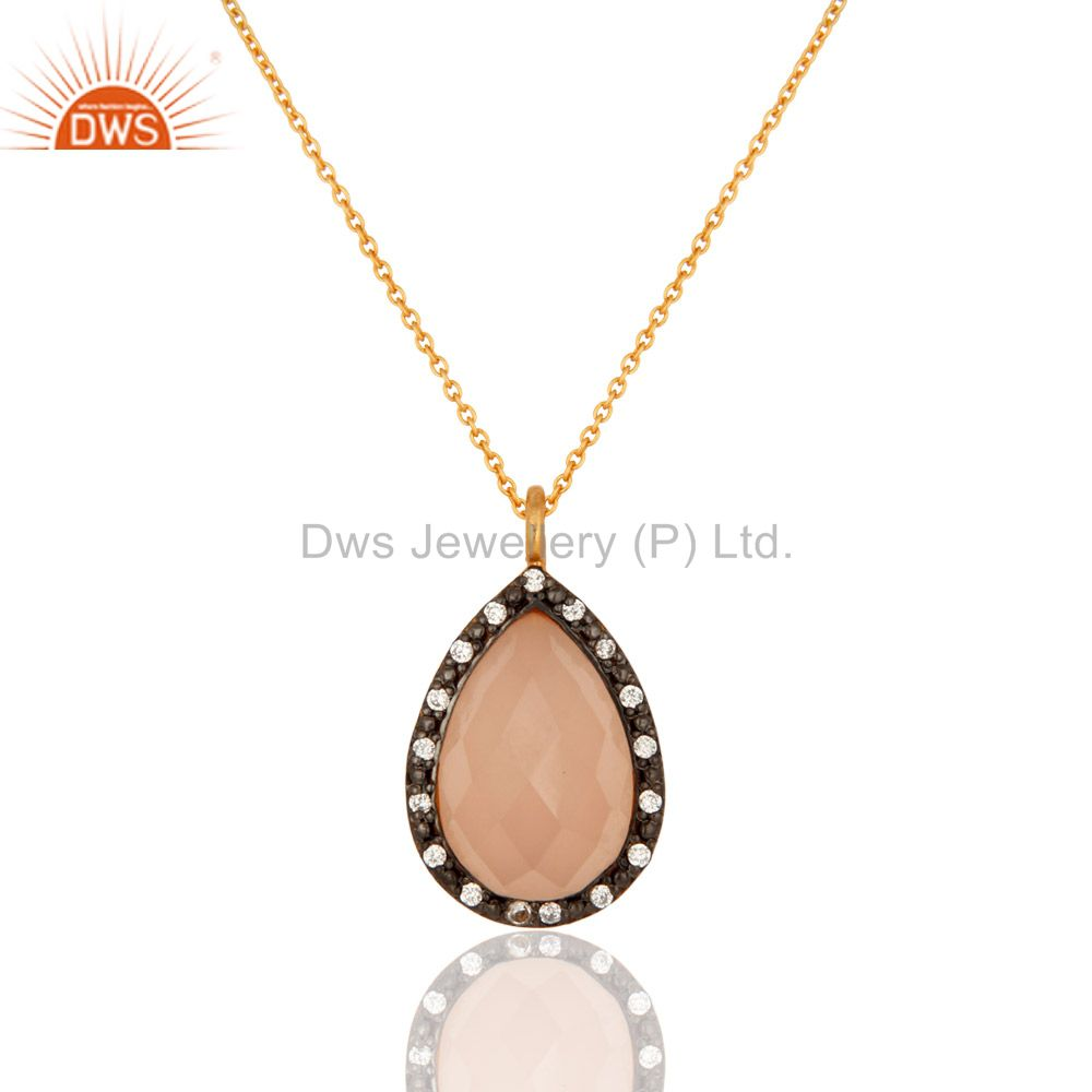 Rose Chalcedony Pendant And Necklace Wholesale