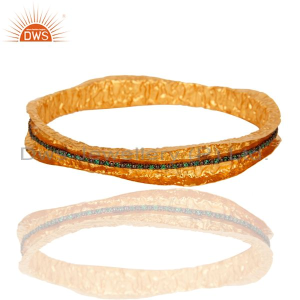 Zircon Green Bangle