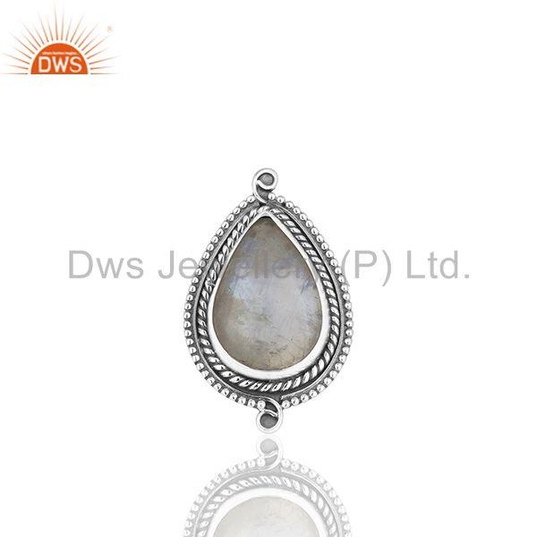 Indian Handmade 925 Sterling Silver Moonstone Designer Rings Supplier from India