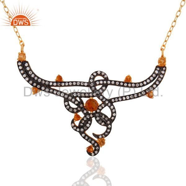 Party Wear Pendant And Necklace