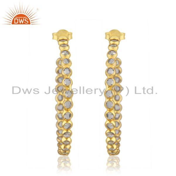 Designer Cz Gemstone Jewelry Earrings Manufacturer