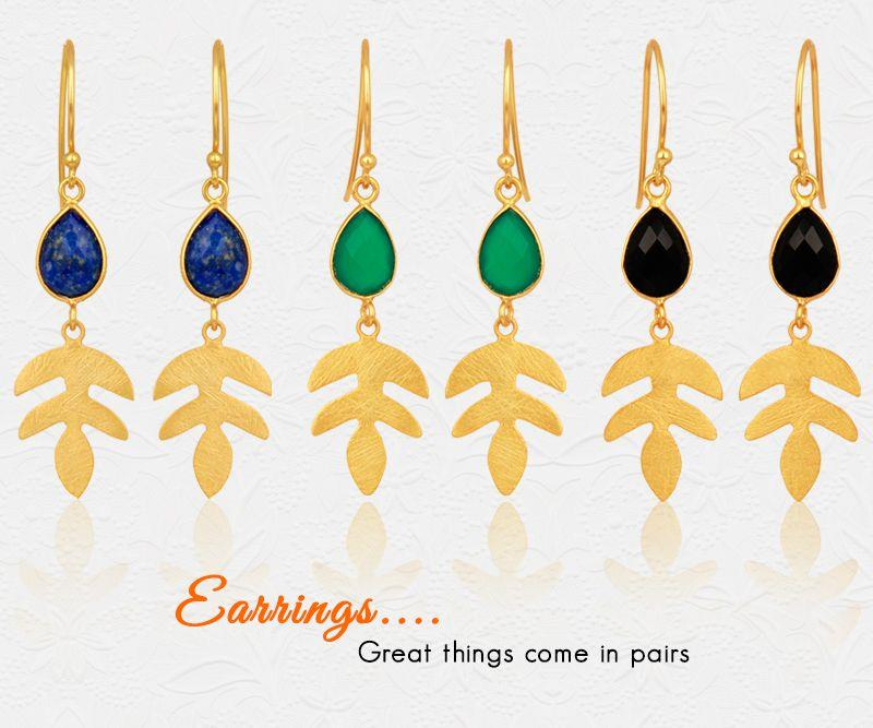 Wholesale Designer Gemstone Earring Jewelry Supplier