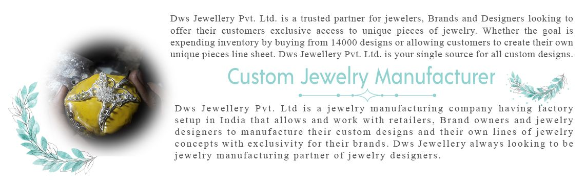 Custom jewelry manufacturer in India