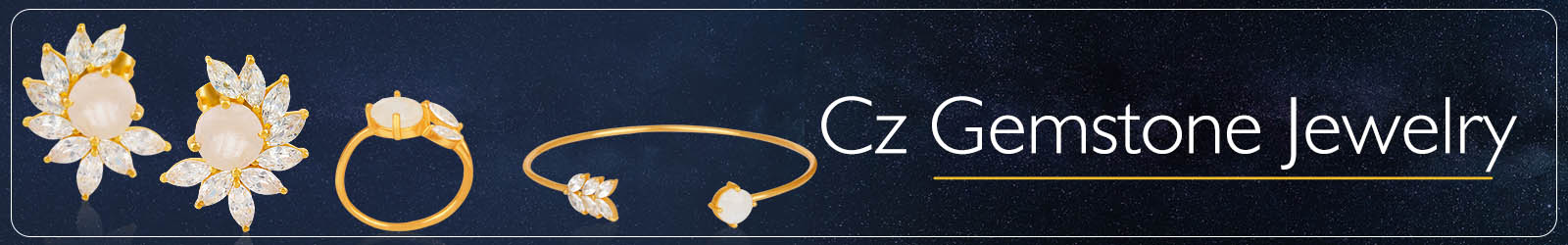 Cz Gemstone Jewelry Collection And Manufacturer