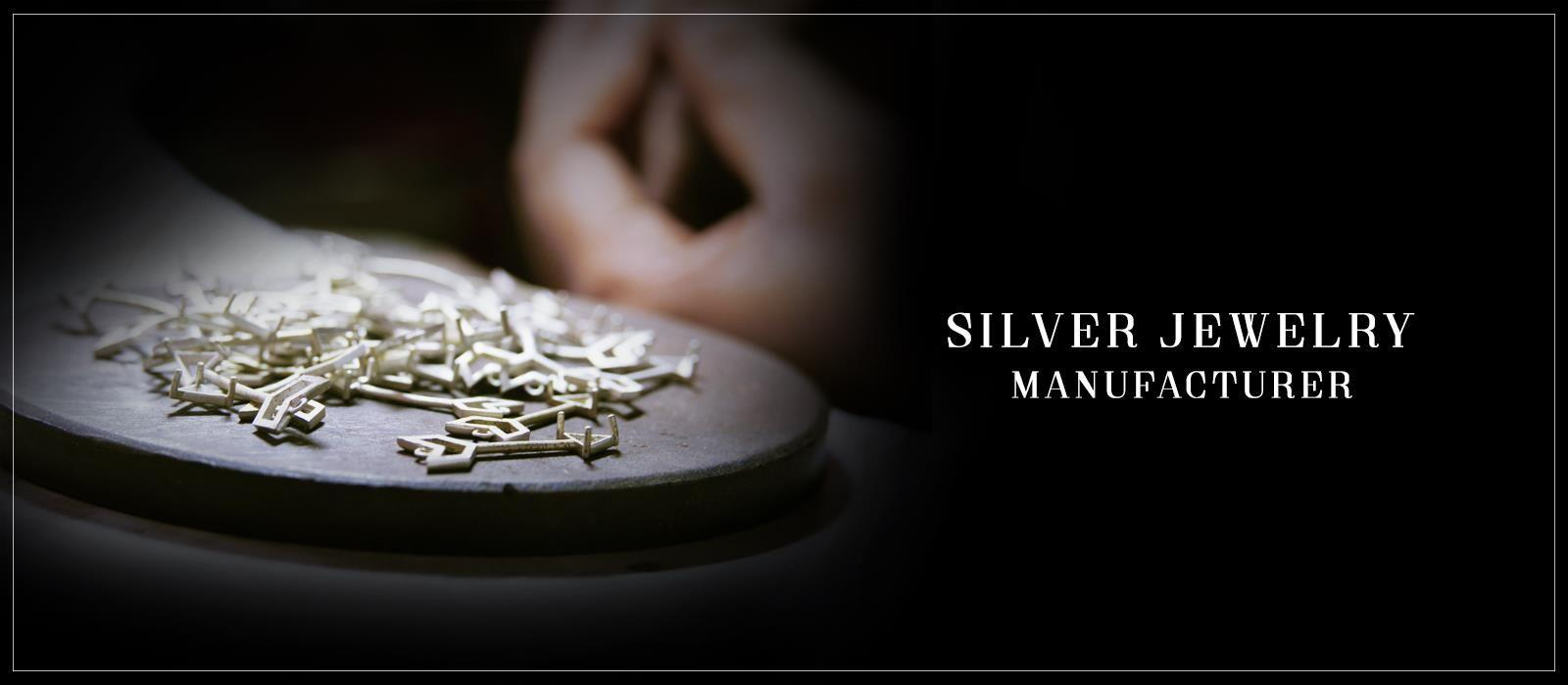 silver jewelry manufacturers India