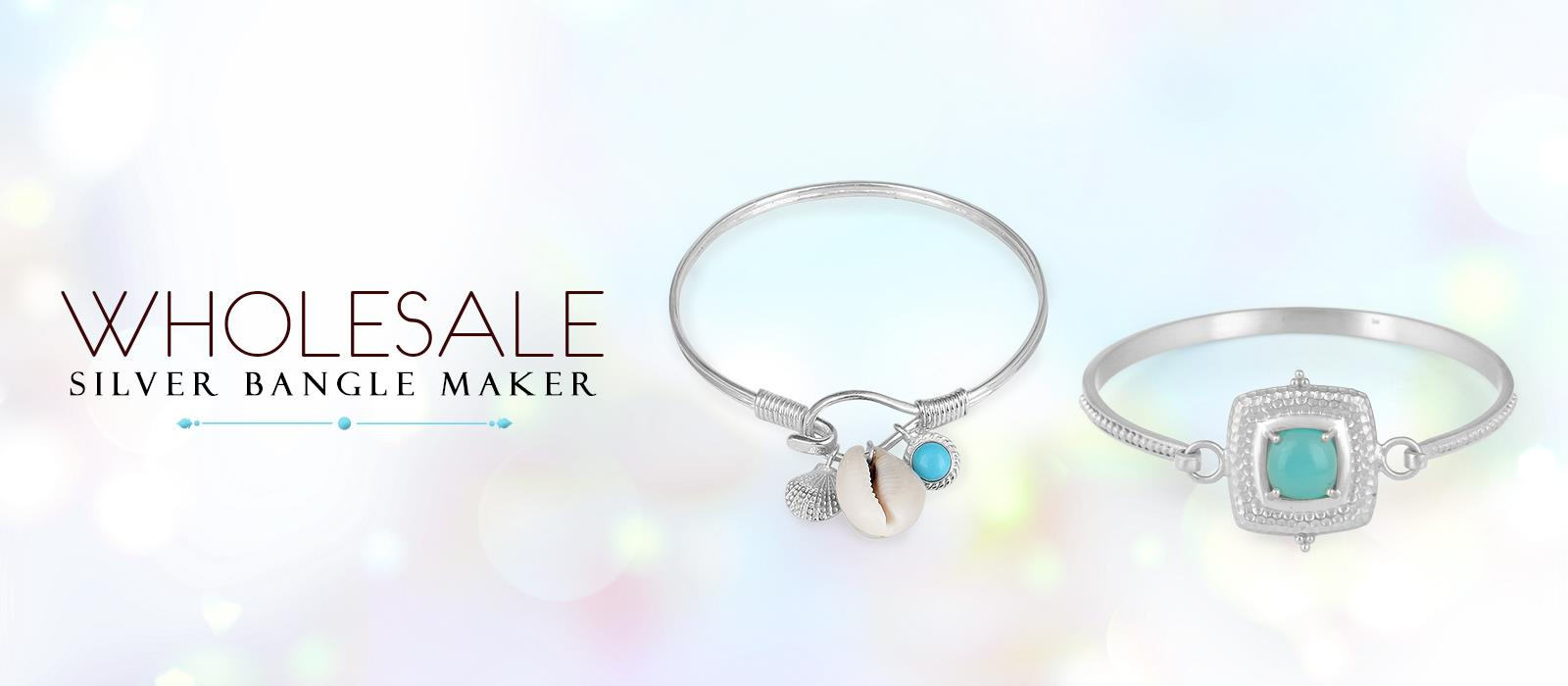 Wholesale Silver Bangles Maker