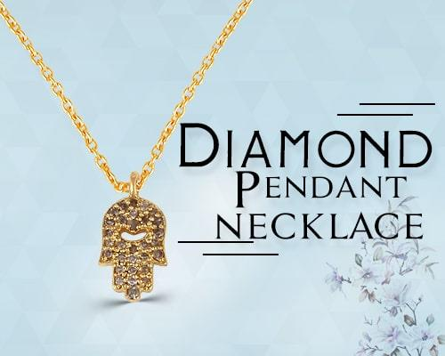 diamond pendant and necklace maker