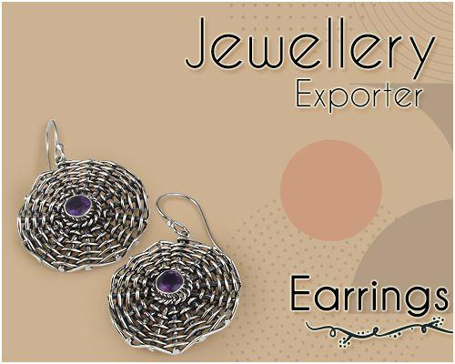 Earrings Jewelry exporter from India