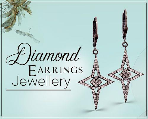 Diamond earrings jewelry supplier