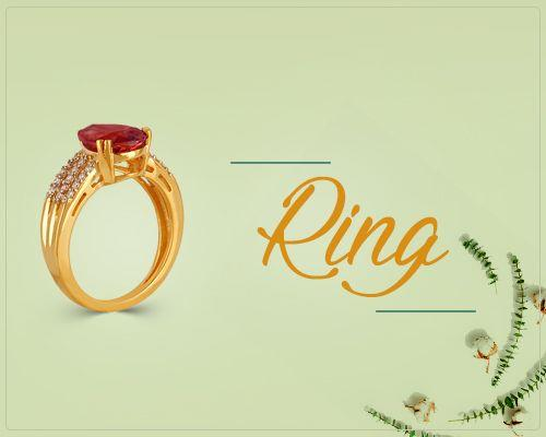 Gold Rings Jewelry