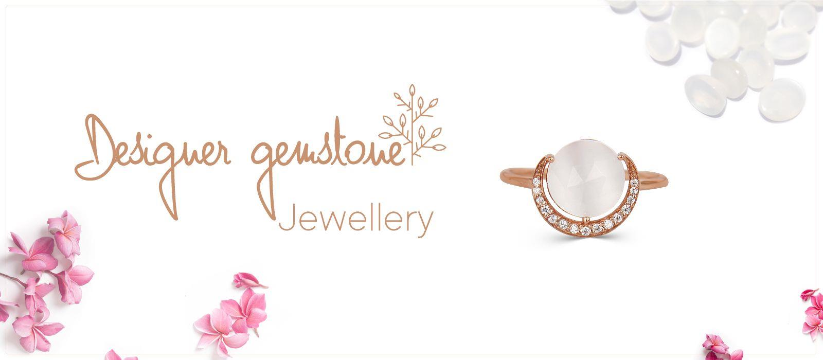 Designer gemstone jewelry