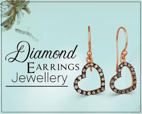 Diamond earrings jewelry exporter