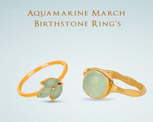 March Birthstone Rings Manufacturer Jaipur