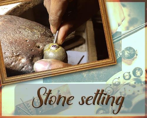 Jewellery stone setting