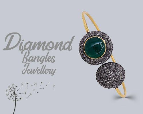 Diamond bangle jewelry exporter