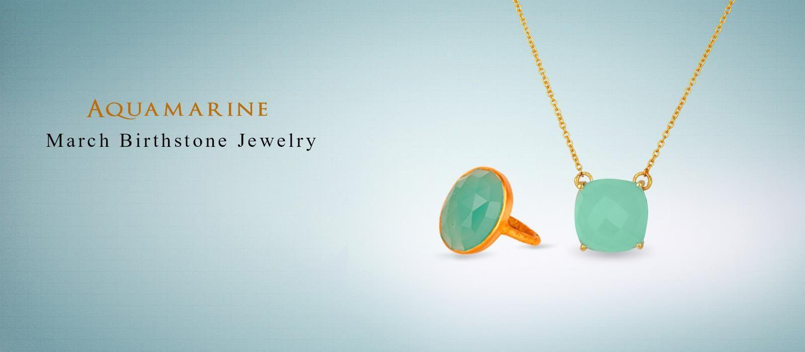 March Birthstone Jewelry Manufacturer India