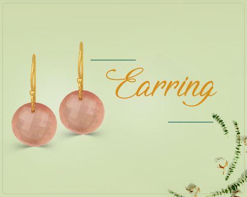 Gold Earrings Jewelry