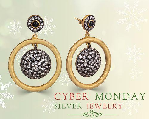 Cyber Monday silver jewelry