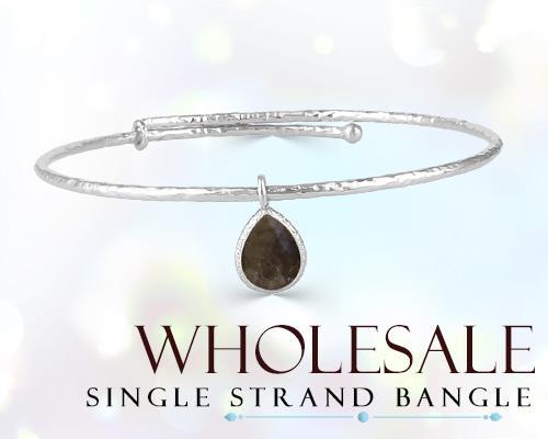 Wholesale Silver Single Strand Bangles Maker