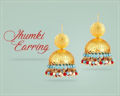Jhumki Earrings Jewelry