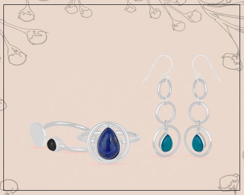genuine gemstone jewelry manufacturer india, real gemstone jewelry manufacturer
