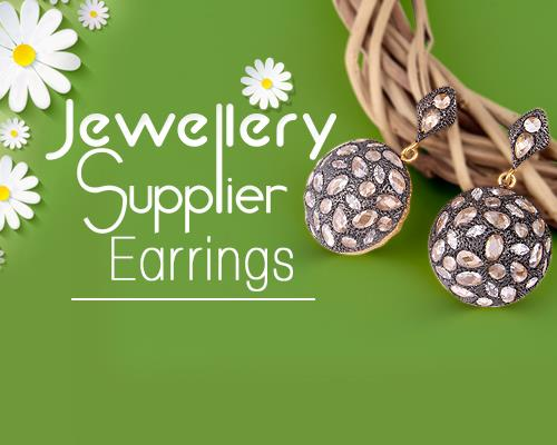 Wholesale earrings jewelry supplier from India