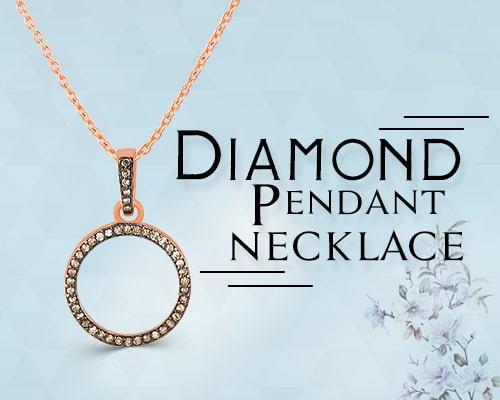 diamond pendant and necklace designer