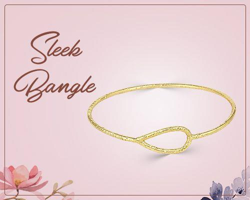 Wholesale supplier sleek bangles jewelry