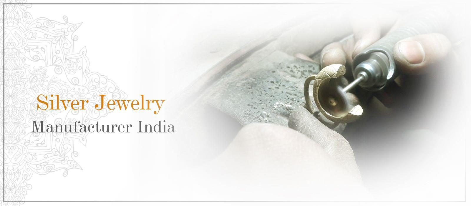 Silver jewelry manufacturers and suppliers in India