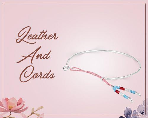 Wholesale leather cord bangles jewelry