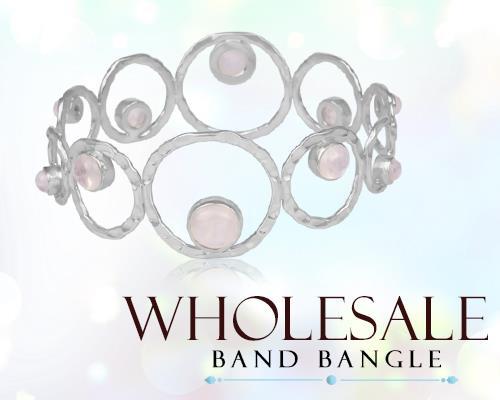 Wholesale Silver Band Bangles Maker