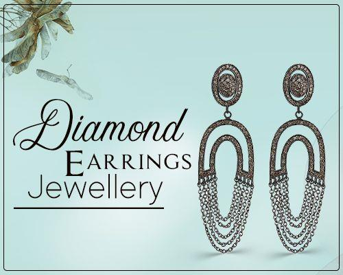 Diamond earrings jewelry manufacturer
