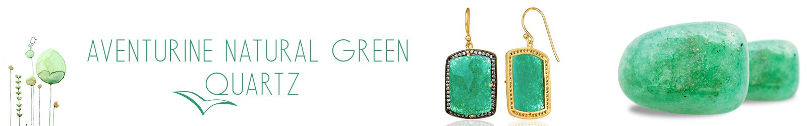 Wholesale Aventurine Green Quartz Gemstone Jewelry Manufacturer in Jaipur